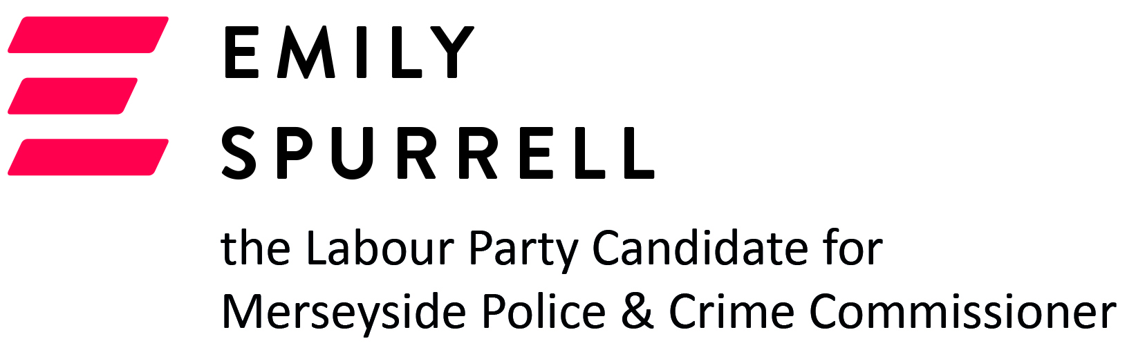 Emily Spurrell the Labour Party Candidate for Merseyside Police and Crime Commissioner
