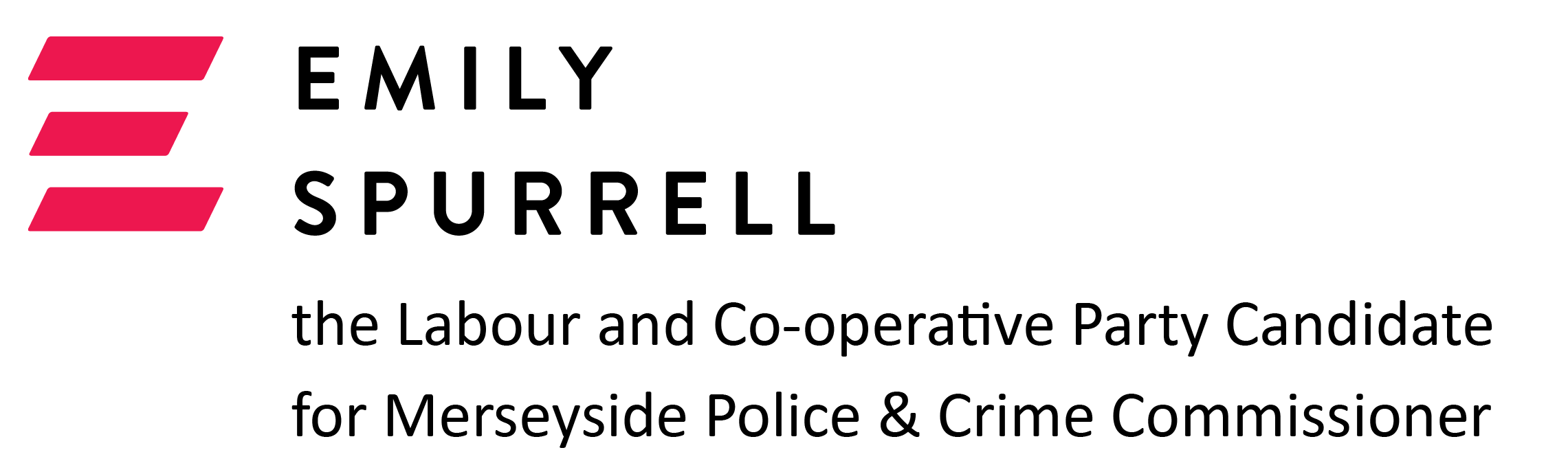 Emily Spurrell - the Labour and Co-operative Party Candidate for Merseyside Police and Crime Commissioner